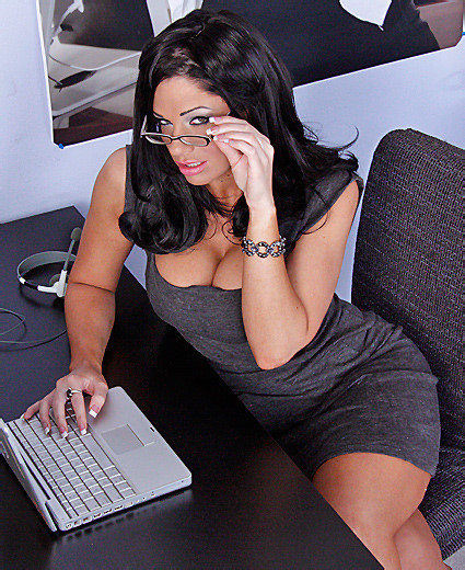 Angela Aspen Big Tits At Work 73